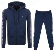 Product Image for Tommy Hilfiger Lounge Taped Tracksuit Navy